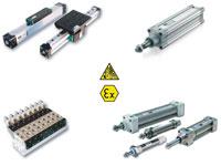 ATEX pneumatikus megoldások - Monojet-ipartechnika